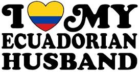 I Love My Ecuadorian Husband t-shirts