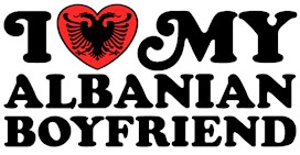 I Love My Albanian Boyfriend t-shirts