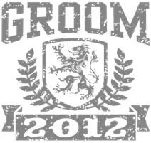 Groom 2012 t-shirts