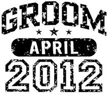 Groom April 2012 t-shirts