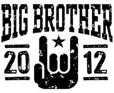 Big Brother 2012 t-shirt