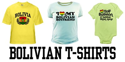 Bolivian t-shirts