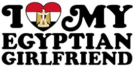 I Love My Egyptian Girlfriend t-shirts