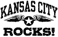 Kansas City Rocks t-shirts