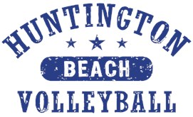 Huntington Beach Volleyball t-shirts