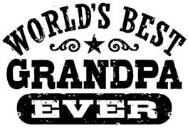 World's Best Grandpa Ever t-shirts