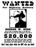 Wanted: George W. Bush