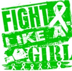 Cerebral Palsy Burnout Fight Like a Girl Shirts