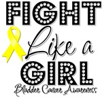 Fight Like a Girl Bladder Cancer Shirts