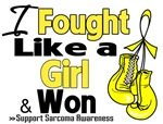 I Fought Like a Girl Sarcoma Shirts