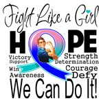 Thyroid Cancer Fight We Can Do It Shirts