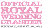 Official Royal Wedding Crasher Pink