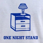 One Night Stand | Weird furniture T-shirts & Inerior Design Gifts