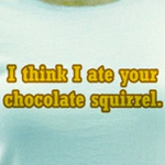 Chocolate Squirrel