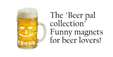 Beer pal magnets