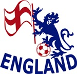England Lion and Soccerball