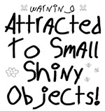 Attracted to Shiny Objects