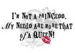 Not A Princess T-shirts and Gifts