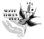 Bird and Sword Tattoo Design