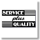 Service plus Quality