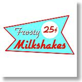 Frosty Milkshakes