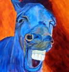 Laughing Horses #2
