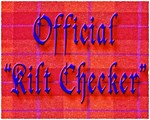 Kilt Checker Red