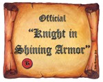 Official Knight in Shining Armor