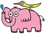 Pinky the elephant