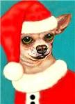 Chihuahua Santa Claus