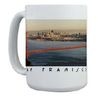 sf gifts! san francisco  coffee mugs