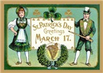 St. Patrick's Day - Traditional Cards
