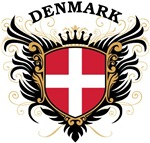 Danish Flag T-shirts & Gifts