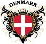 Danish Flag T-shirts & Gifts