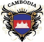 Cambodian Flag T-shirts & Gifts
