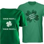 Custom Text St. Patrick's Day Shirts