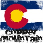 Copper Mountain Grunge Flag