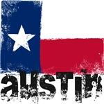 Austin Grunge Flag