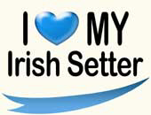 I Love My Irish Setter: Clothes & Gifts