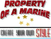 Property Of A Marine | Buy Trendy  T-Shirts & Gift
