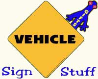 Vehicle Sign Stuff