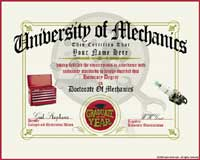 Mechanic Diploma |Trendy T-Shirts & Gifts