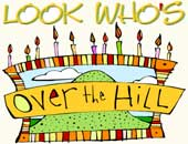 Look Who's Over The Hill: Gifts
