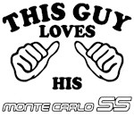 This guy loves his chevy Monte SS