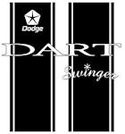 Dodge Dart Swinger Racing Stripes