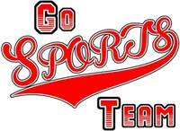 Go Sports Team Red