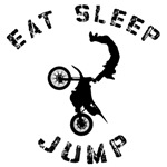 Eat Sleep Jump FMX Black