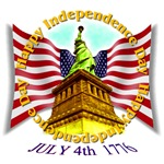 July 4th 1776 - Statue of Liberty