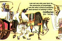 Eastern Philosophy: Confucius Knowledge Antiquity