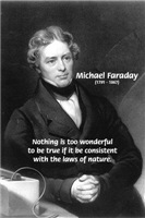 Michael Faraday: Wonderful Truth, laws of Nature